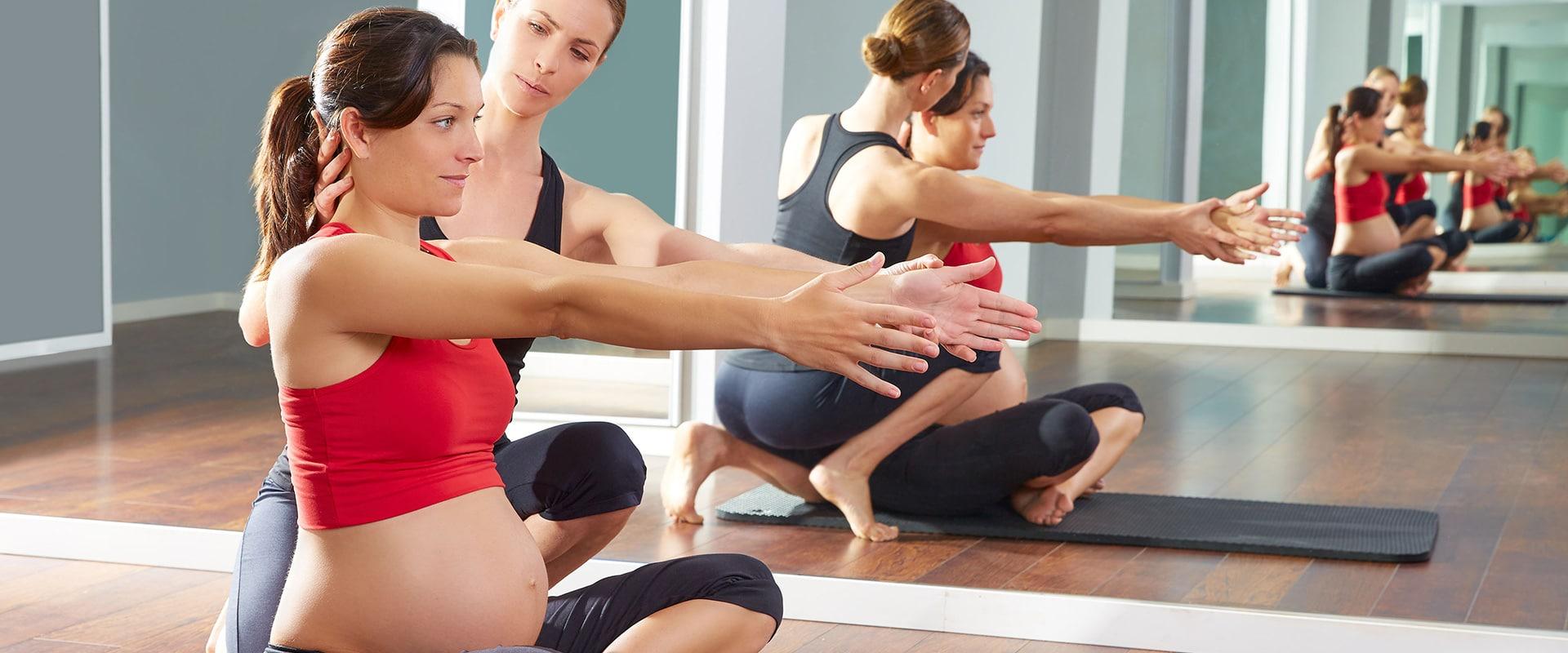 Pilates para embarazadas en Ritmo Sevilla