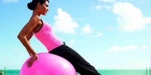 ejercicios con pelotas para pilates